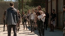 TWD S5E12 - Introduction | The Group enters the Alexandria Safe-Zone