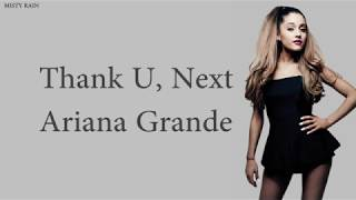 Thank U, Next - Ariana Grande (Lyrics)