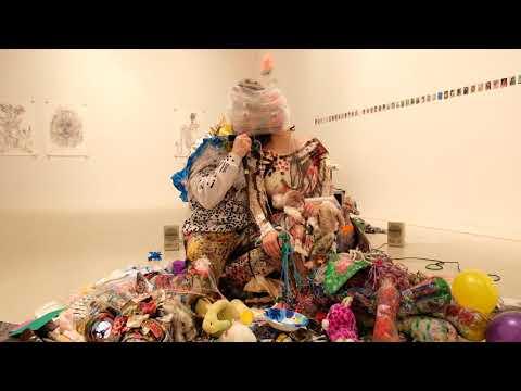 4 Hour Hug - Chelsea gallery performance art