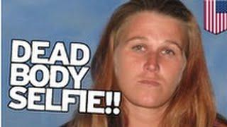 SELFIE SOUS MÉTHAMPHÉTAMINE: Une femme et son ami profitent d'une occasion pour faire un selfie