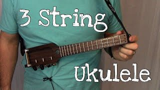 no g three string ukulele