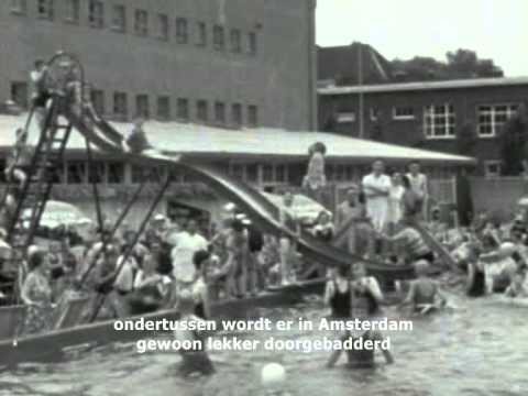 1934 1936: sportfondsenbad oost in de linnaeusstraat amsterdam met