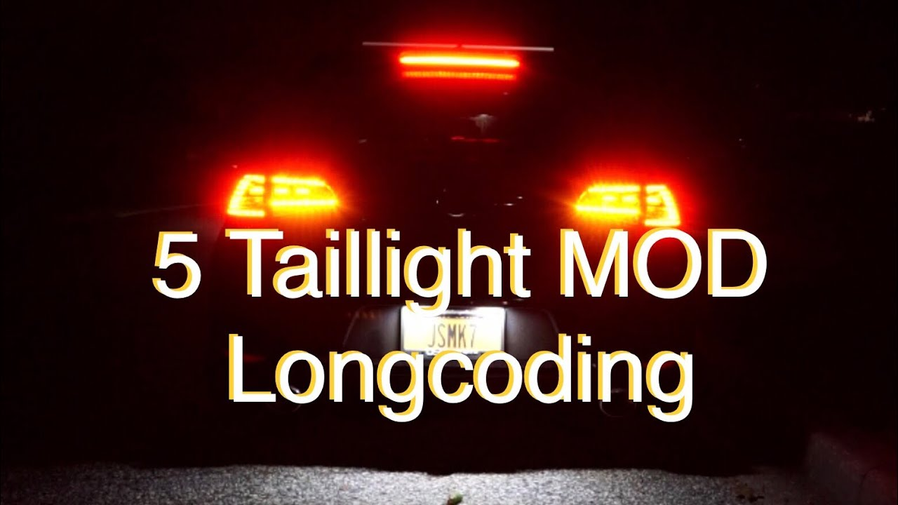 MK7 GTI 5 Taillight Long coding using OBDELEVEN