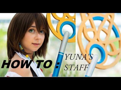 Yuna's Staff (FFX) Cosplay Tutorial