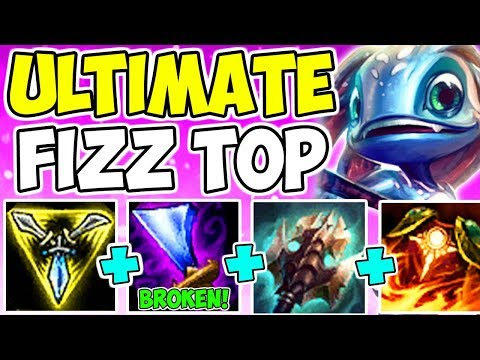 WE BUILT THE NEW REWORKED WIT'S END!! Fizz Wit's End Bruiser AD Tank Top Lane League Of Legends S9
