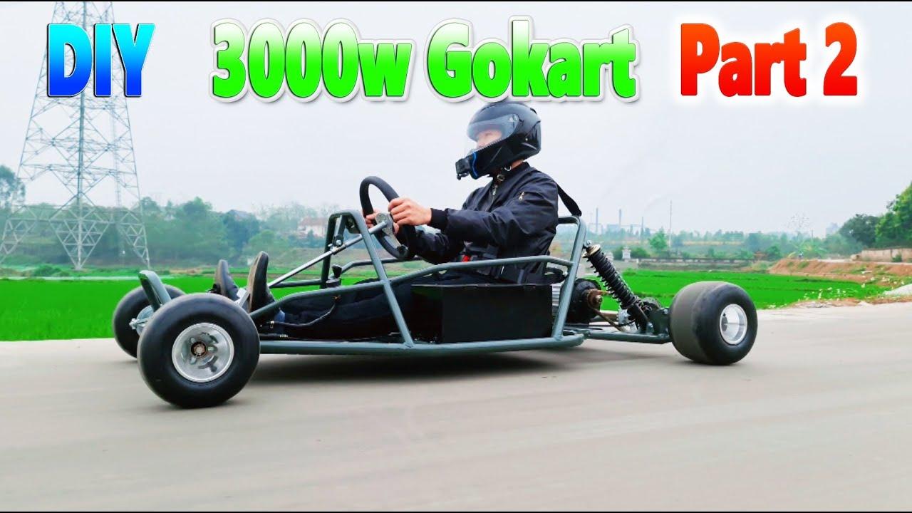 How To Make a 3000W Electric Go Kart v4 - Part 2