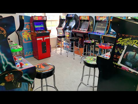 ARCADE1UP TOUR APRIL 2021 + CHASING THAT COMMANDO HIGH SCORE! from The 3rd Floor Arcade with Jason