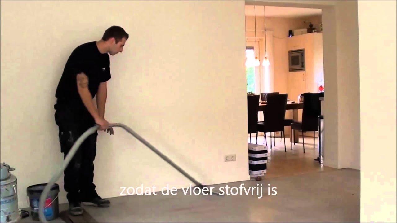 Leggen van mflor pvc vloer youtube