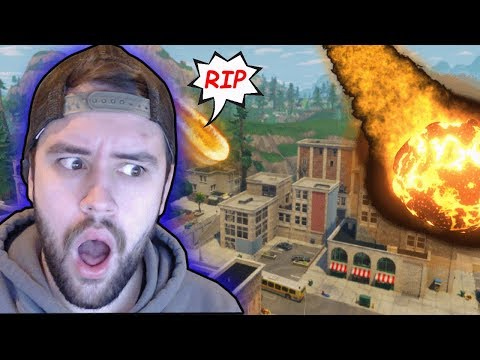 RIP TILTED TOWERS - ITS DESTROYED TODAY?! Fortnite: Battle Royale!