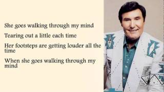 Billy Walker - She Goes Walking Through My Mind with Lyrics