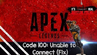 Download Unable to log on to Apex Legends | Code 100 Fix Mp3 and Videos