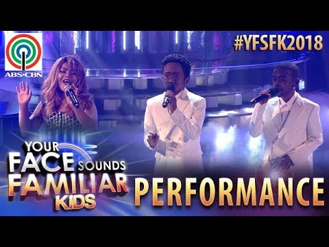 Your Face Sounds Familiar Kids 2018: TNT Boys as Mariah Carey, Boyz II Men | One Sweet Day