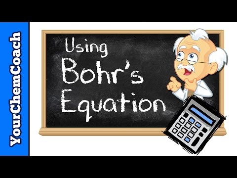 Bohr's Equation To Find Photon Energy