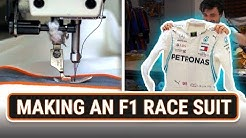 How Is An F1 Race Suit Made?