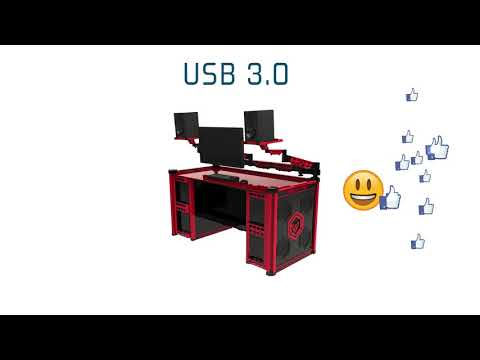 THE WORLD'S MOST AMAZING DESK PC - iCTABLE