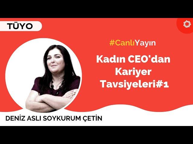 Gideros CEO'su Deniz Aslı Soykurum Çetin ile STEAMWIN Kadınları Canlı Yayını - 1. Kısım