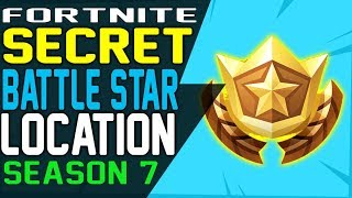 SECRET BATTLE STAR WEEK 1 LOCATION FORTNITE SEASON 7 SNOWFALL Challenges - Secret Battle Stars