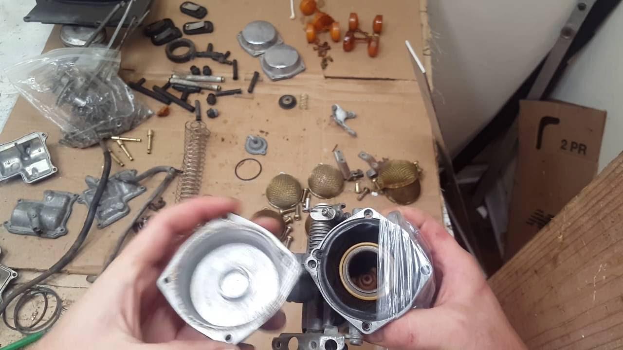 How to install carburetor CV slide w/ rubber diaphragm EASY!