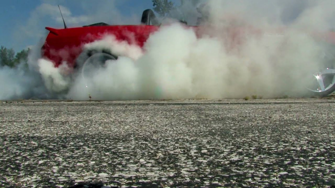 How to do a Burnout. Step by Step