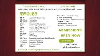 List top ten private colleges introducing B.Sc Agriculture ,  B.Sc Horticulture, Tamilnadu India