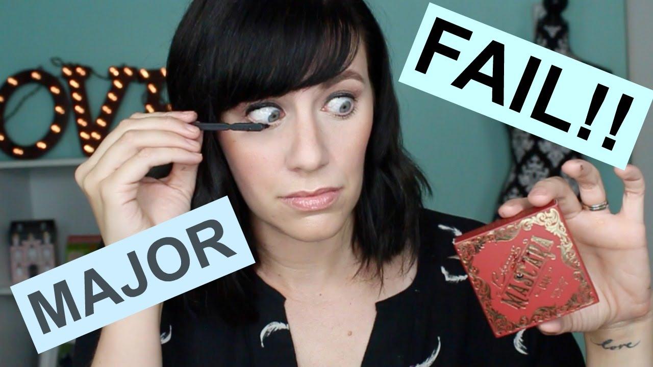 822c2d6f4e8 Mascara Cake FAIL!!!| First Impressions - YouTube