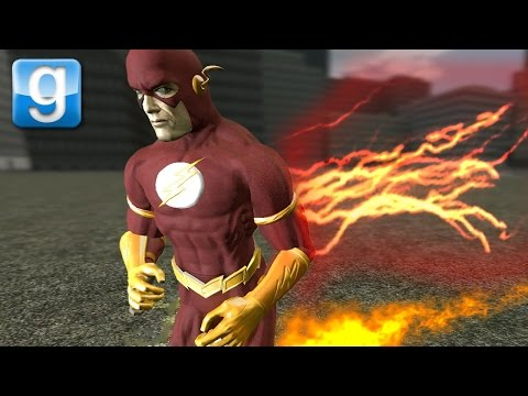 FASTEST MAN ALIVE THE FLASH | Gmod DarkRP (Funny Moments)