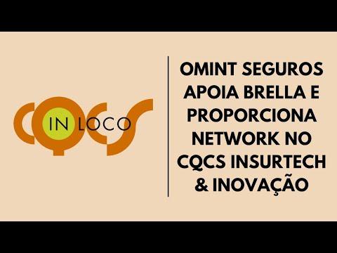 OMINT SEGUROS APOIA BRELLA E PROPORCIONA NETWORK NO CQCS INSURTECH & INOVAÇÃO