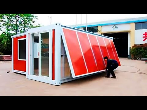 BEST LUXURY CONTAINER HOUSES. 10 MINUTES ONE HOUSE