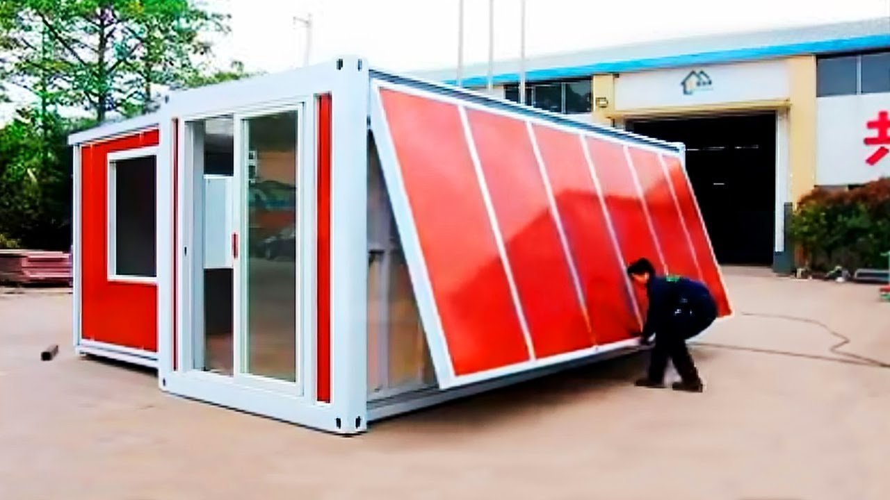 BEST LUXURY CONTAINER HOUSES  10 MINUTES ONE HOUSE