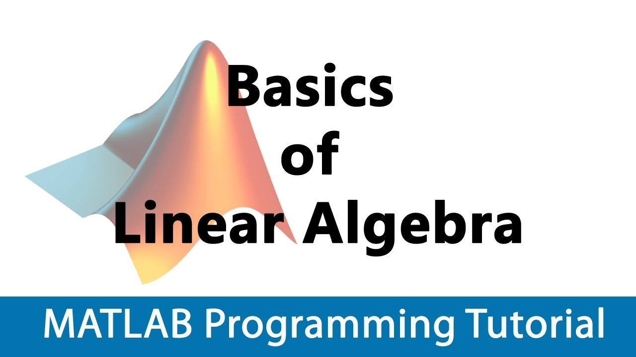 Image classifier tutorial | linear algebra basics #2 youtube.