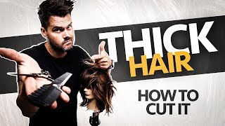 ? HOW TO CUT THICK HAIR ? 7-22-20 12pm EST | Woke Up This Way 053 #HairShow