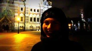 Девушка из Беларуси рекомендует Белорусскому телевидению уроки жонглирования булыжниками.