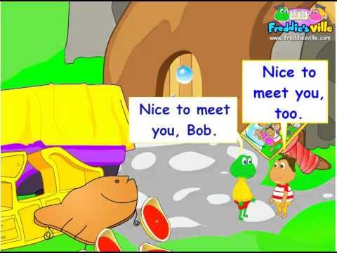 Nice to Meet You, Greetings Expression in English for ESL kids