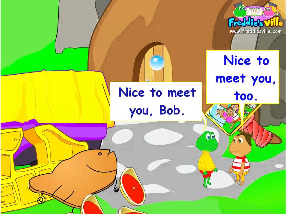 Nice To Meet You Greetings Expression In English For Esl