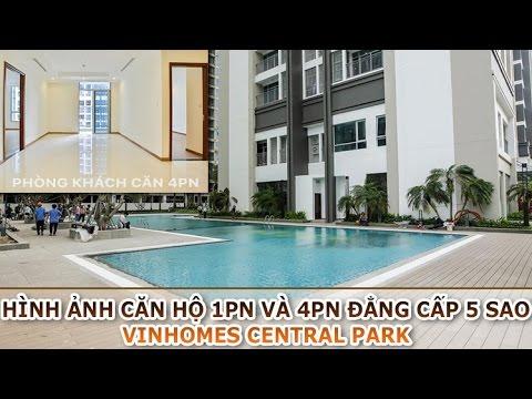 Cho thuê căn hộ 1PN Vinhomes Central Park Q.Bình Thạnh view sông sát công viên 14ha tuyệt đẹp