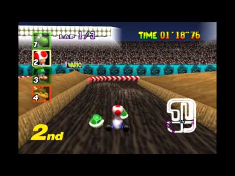 trucos y atajos de mario kart 64 youtube. Black Bedroom Furniture Sets. Home Design Ideas
