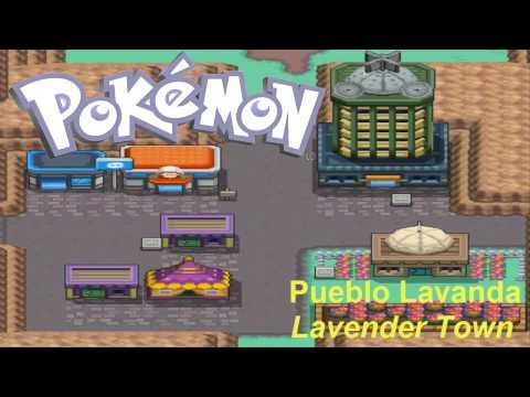 Pokemon Oro HeartGold y Plata SoulSilver - Música de Pueblo Lavanda