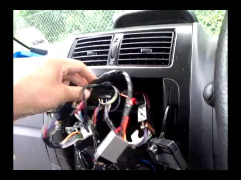 Trailor Wiring Diagram 4 Ohm Dvc Sub Ifitstuff Safe, Secure And Sustainable Re-installation Of A Parrot Ck3100 - Youtube