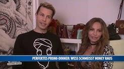 Perfektes Promi Dinner: Florian Wess schmeißt Honey raus