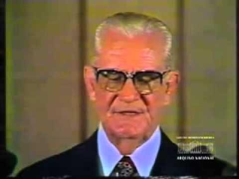 1975   PRESIDENTE GEISEL EM PRONUNCIAMENTO NA TV   DITADURA MILITAR