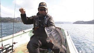 #004 銀鱗の好敵手・クロダイ ダンゴで直撃!カセでチヌ~愛媛県宇和島~