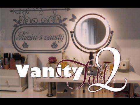 Utilities: La mia vanity table - 2°parte - postazione make-up