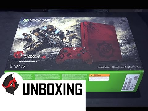 Xbox One Unboxing Gears of War 4 ...