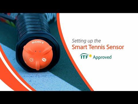 How to set up Smart Tennis Sensor
