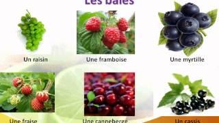 французский язык УРОК № 30  les  fruits et les baies