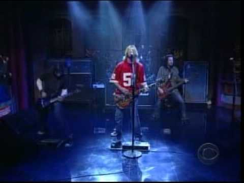 Puddle of Mudd - Away From Me (David Letterman)
