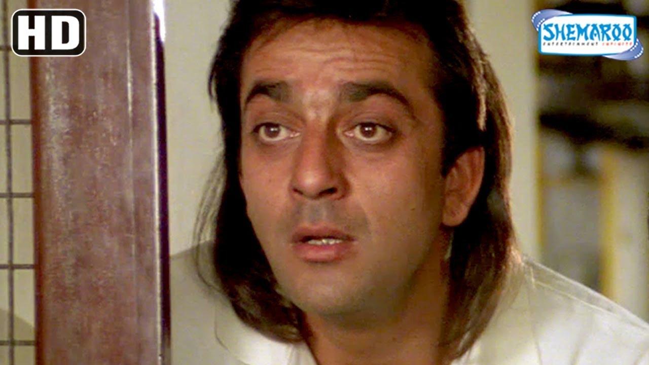 Sanju comedy scene from Super-hit Hindi movie Aandolan ...