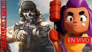 Call of Duty Mobile BRAWL STARS Directo En Vivo Jugando minecraft partidas privadas roblox FREE FIRE
