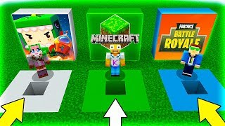 - NO ELIJAS EL AGUJERO EQUIVOCADO MINIWORLD, MINECRAFT y FORTNITE en MINECRAFT