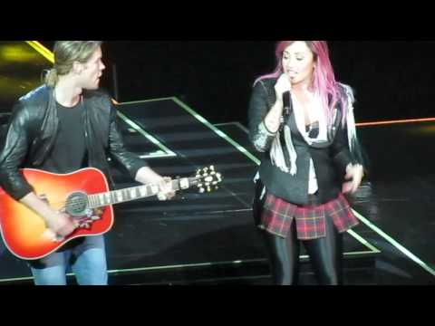 Made in the USA- Demi Lovato and Chord Overstreet HD